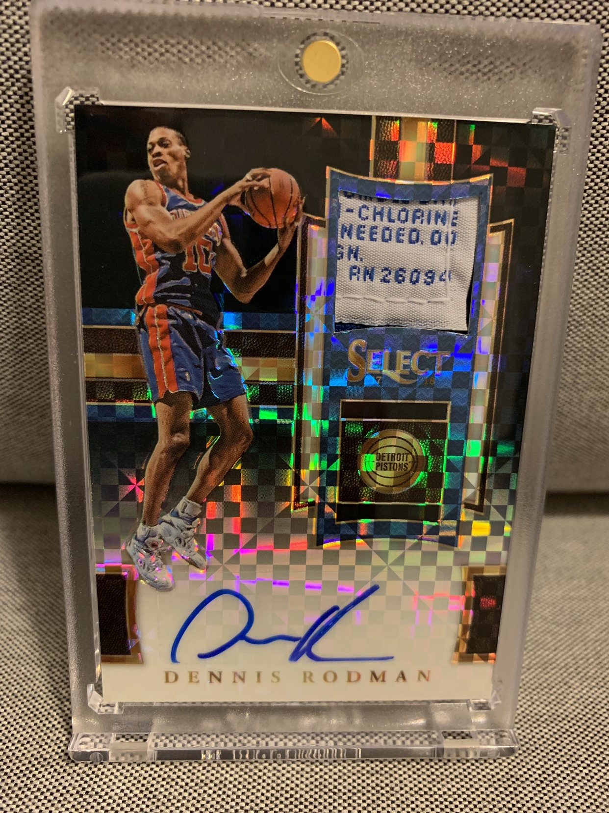 sports shoes fc1e4 97216 Road to 100 Autos - Dennis Rodman - Page 3 - Blowout Cards ...