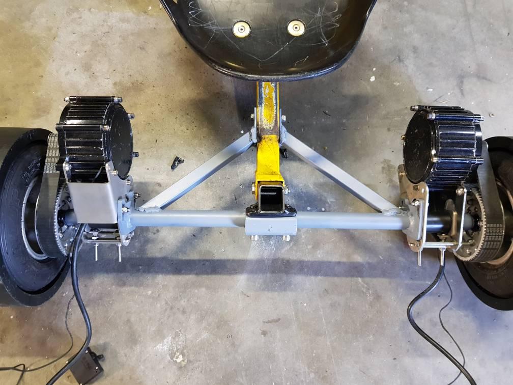 Electric Drift Trike RWD - Endless Sphere