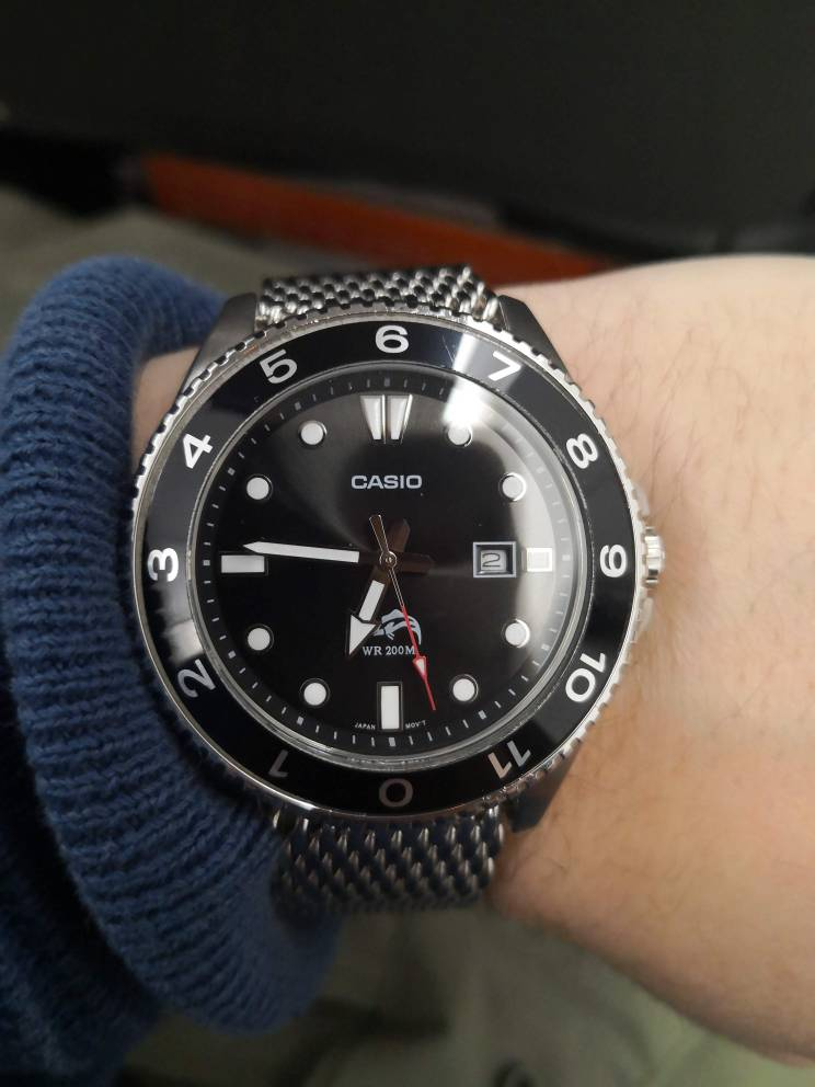 Really surprised by 45 dollar Casio 200M Diver