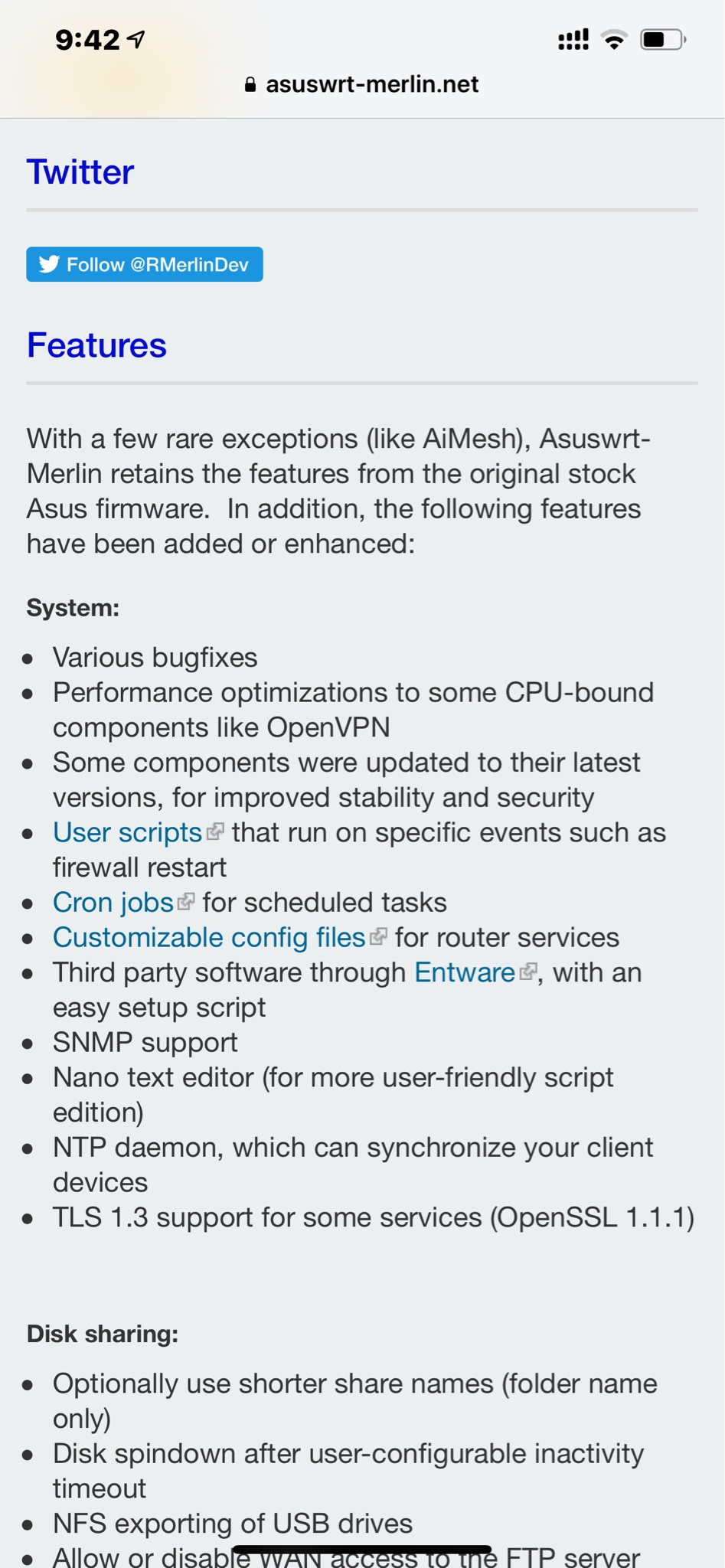 Release] Asuswrt-Merlin 384 13 is now available