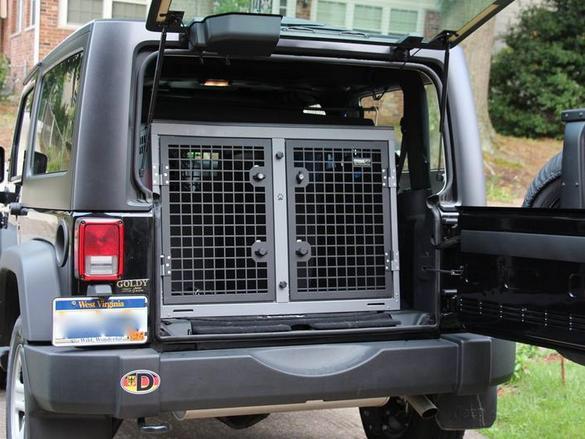 90lb Dog kenneling solutions - Jeep Wrangler Forum