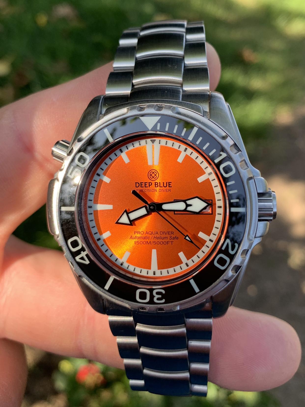 FSO $255 Deep Blue Pro Aqua Diver 1500 Orange