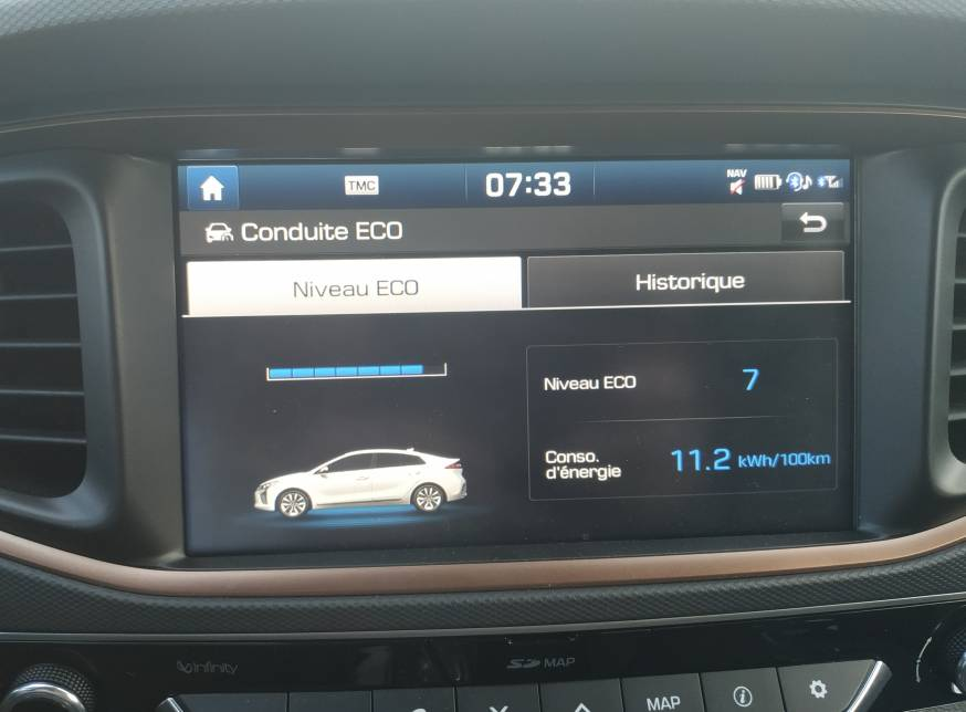 Écrans EV de la Ioniq - Hyundai Ioniq Electrique - Forum Automobile