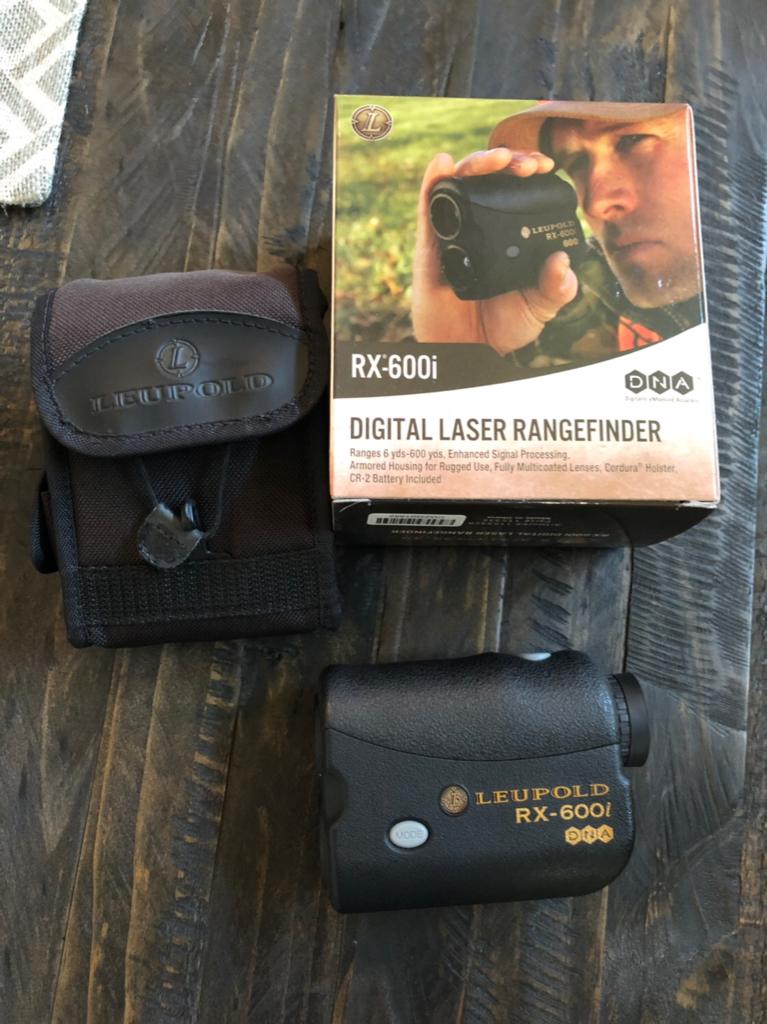 WTS - Gently used Leupold RX-600i Rangefinder $125 tyd