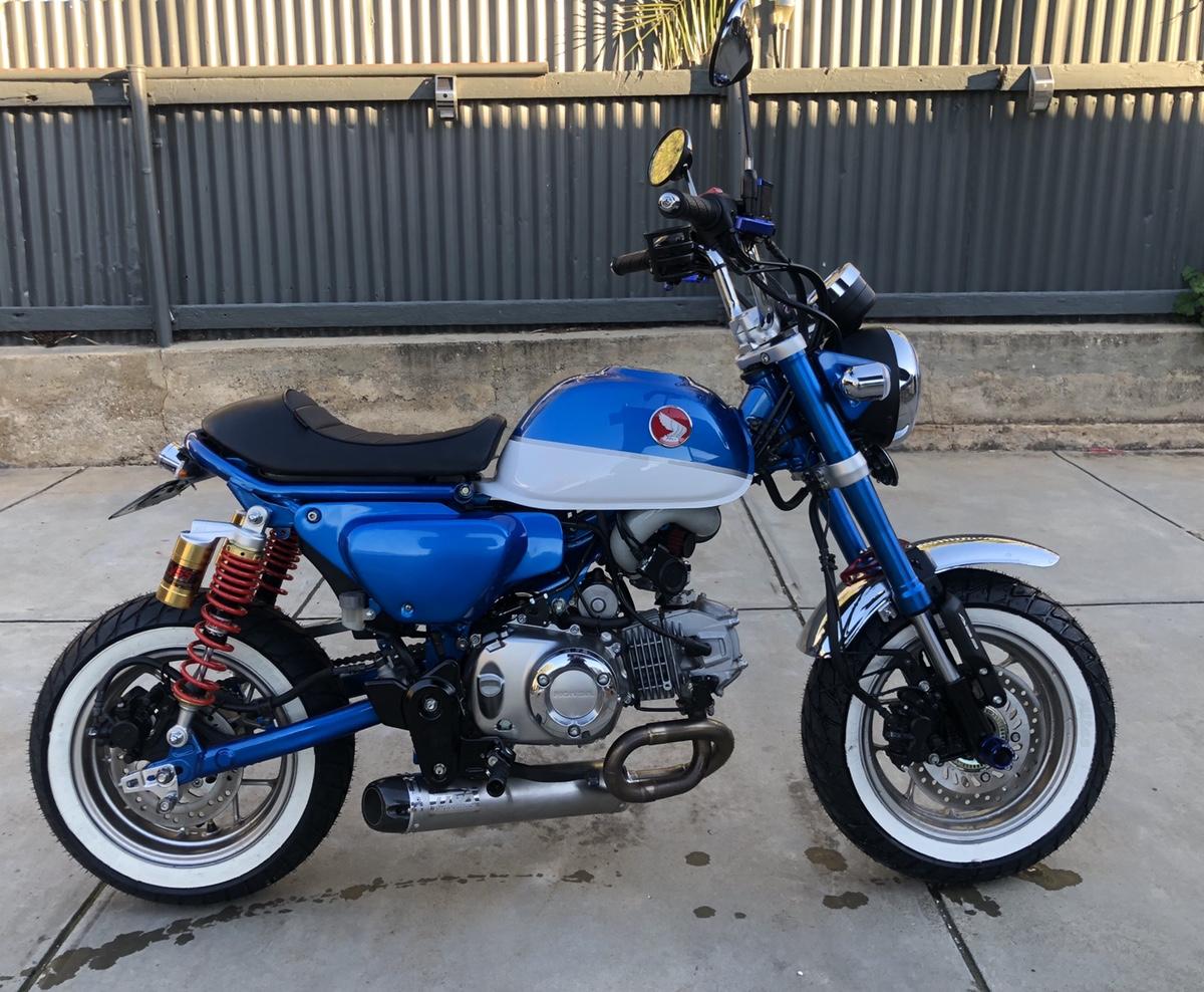 Aussie Monkey Owner Honda Grom