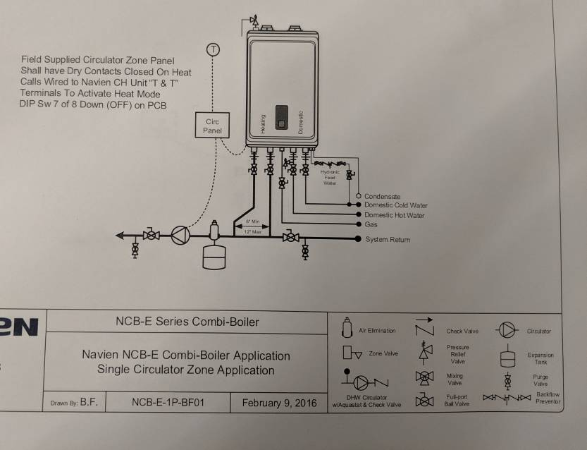 navien piping diagram help design my boiler panel the garage journal board  help design my boiler panel the