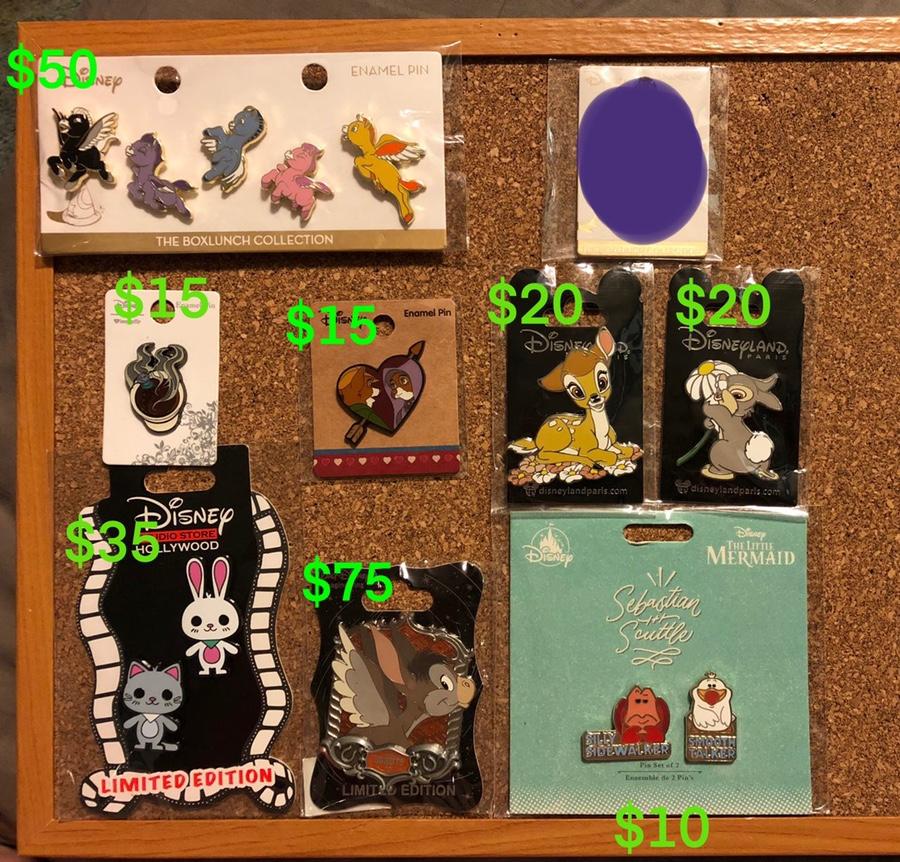 Disney Store JAPAN 25th Anniversary Pin Box Each Sell Bolt
