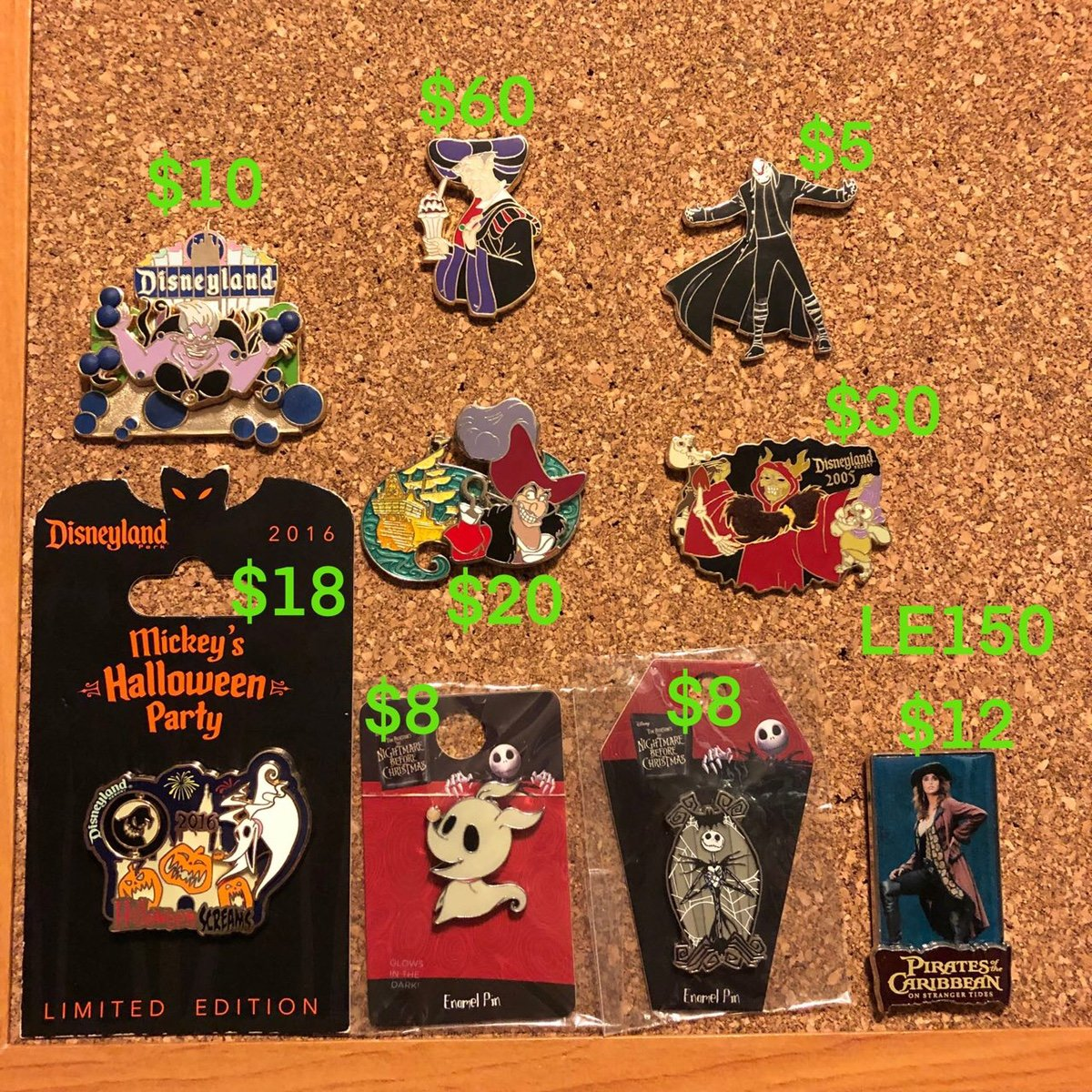 Sold/Ended   Omi's Clear My Debt Sale Updated 10/10   Disney Pin ...