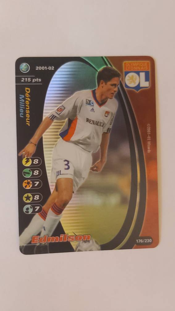 FOOTBALL CHAMPIONS 2001-02 2001 2002 CARDS SET BASE CALCIOMERCATO FRA FRANCIA