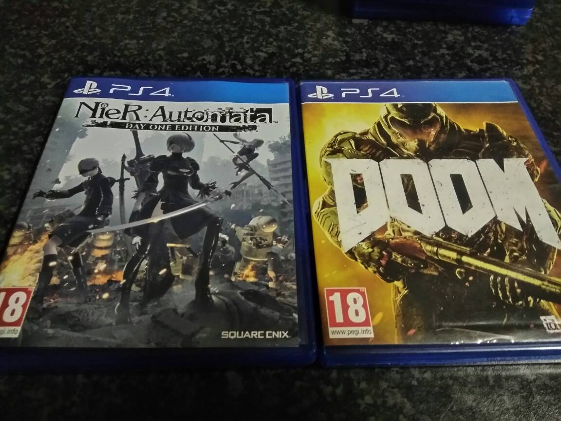 For Sale Nier Automata and Doom