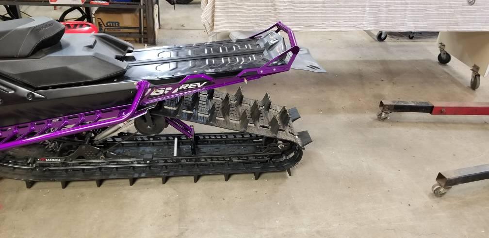 "Ski-Doo Summit EXPERT 165/"" 2020 heavy duty rear bumper"