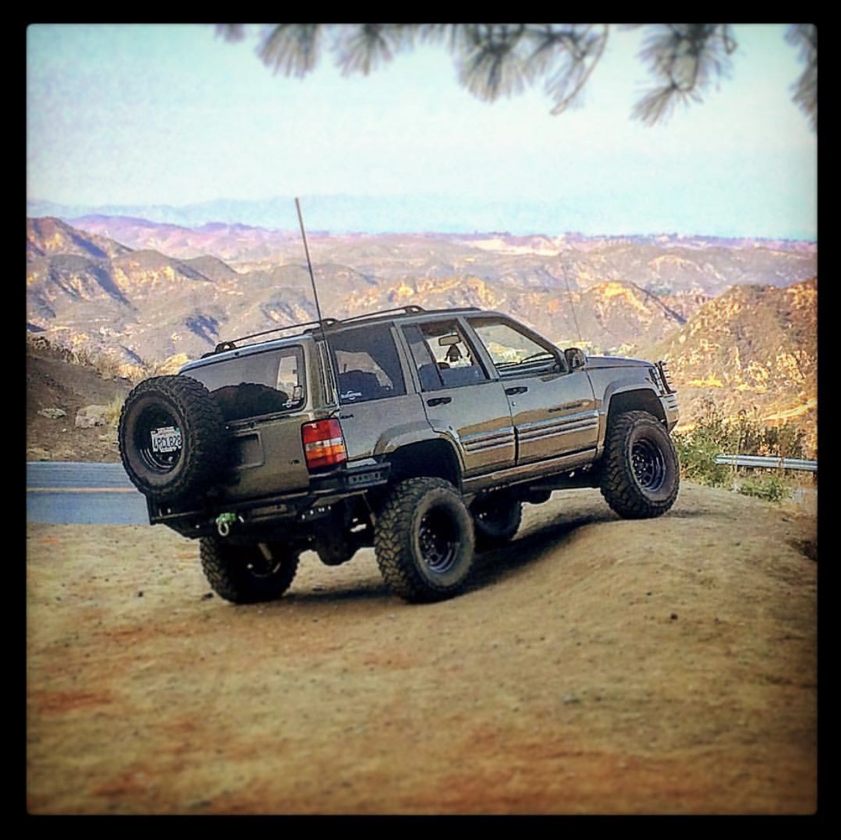 Jeep Grand Cherokee Zj Overland Build