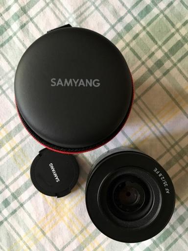 Vendo Samyang 35mm f2,8 FE en Camaras y Objetivos189717133f34802e1de0aad71caa719f