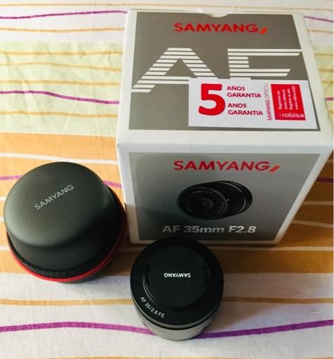 Vendo Samyang 35mm f2,8 FE en Camaras y Objetivos3373af4dfcd69cf688d92246b44096a5