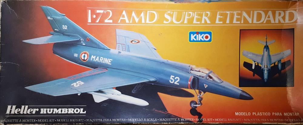 Super Etendard . Heller/Kiko . 1/72 - PlastiBrasil.com ...