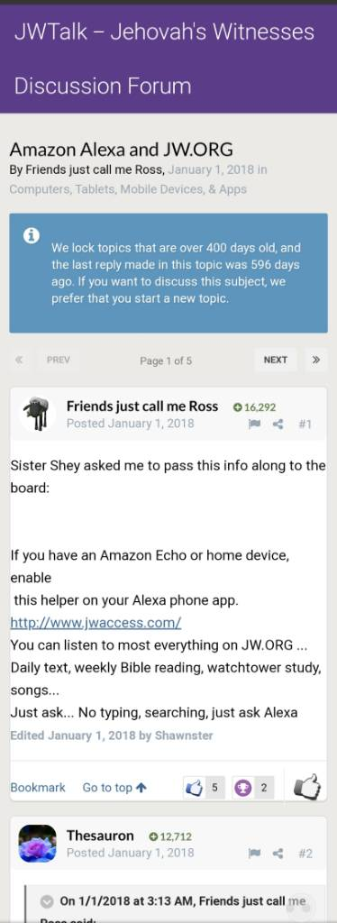 Google Assistant And Alexa Now Can Interact With Jw Org Page 2 Computers Tablets Mobile Devices Apps Jwtalk Jehovah S Witnesses Discussion Forum It includes multiple bible translations, as well as books and brochures for bible study. google assistant and alexa now can