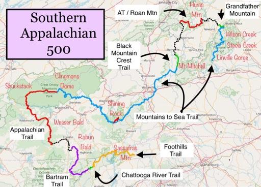 SC/GA/NC/TN -> Southern Appalachian 500 on north carolina earthquake fault line map, ga co map, ga nv map, ga nc map, ga regions map, ga district map, ga tn map, ga elevation map, ga state map, ga fl map, ga interstate map, ga road map, georgia and florida road map, athens ga map, ga al map, ga st map, south carolina map, south ga cities map, ga rivers map, ga ala map,