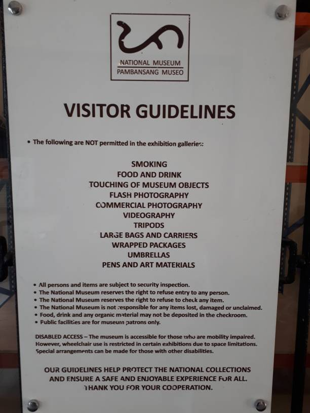03abf871a0cf31b5fdfcf533804b6ac6 - Visitor guidelines at National Museum - Travel and Tours