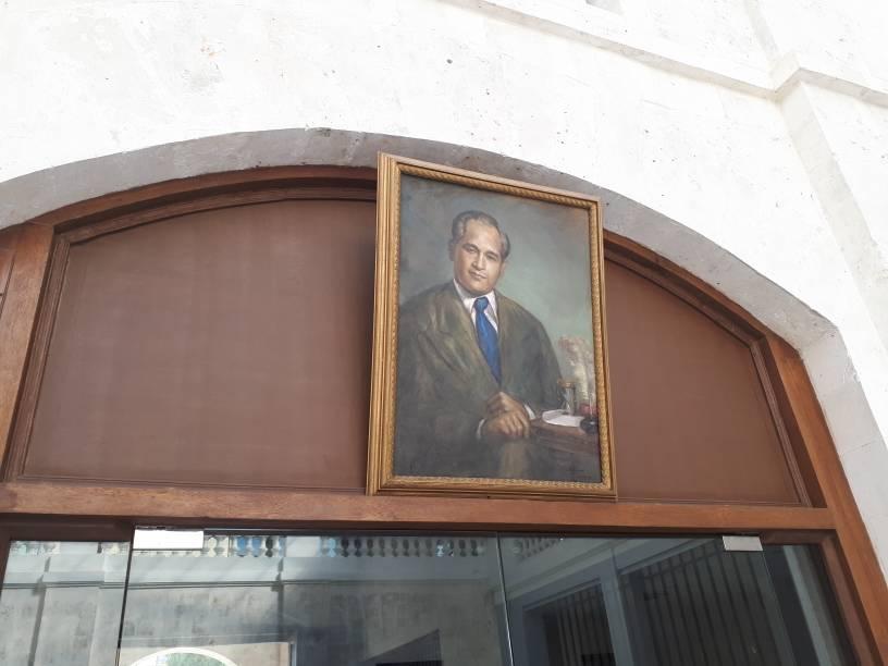 2db5d352a235be8c489f65b682ccad12 - Portrait of Pres Carlos P Garcia - Bohol News Archive