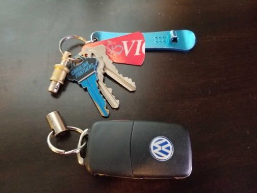 VW Coupe Keychain Keyring Chain Fob Keyfob Corrado Scirocco R32 R-line G60 VR6
