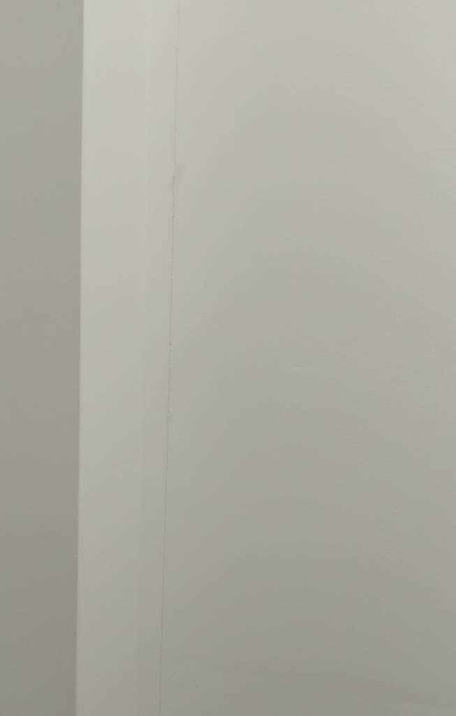 Cracks on walls