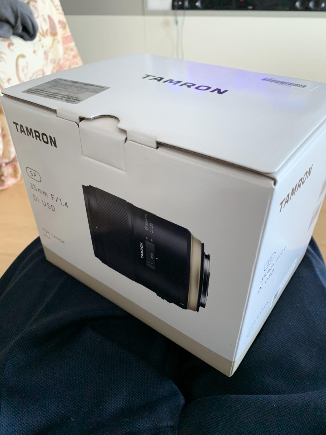 Tamron SP 35mm f/1.4 Di USD (40^ anniversary)