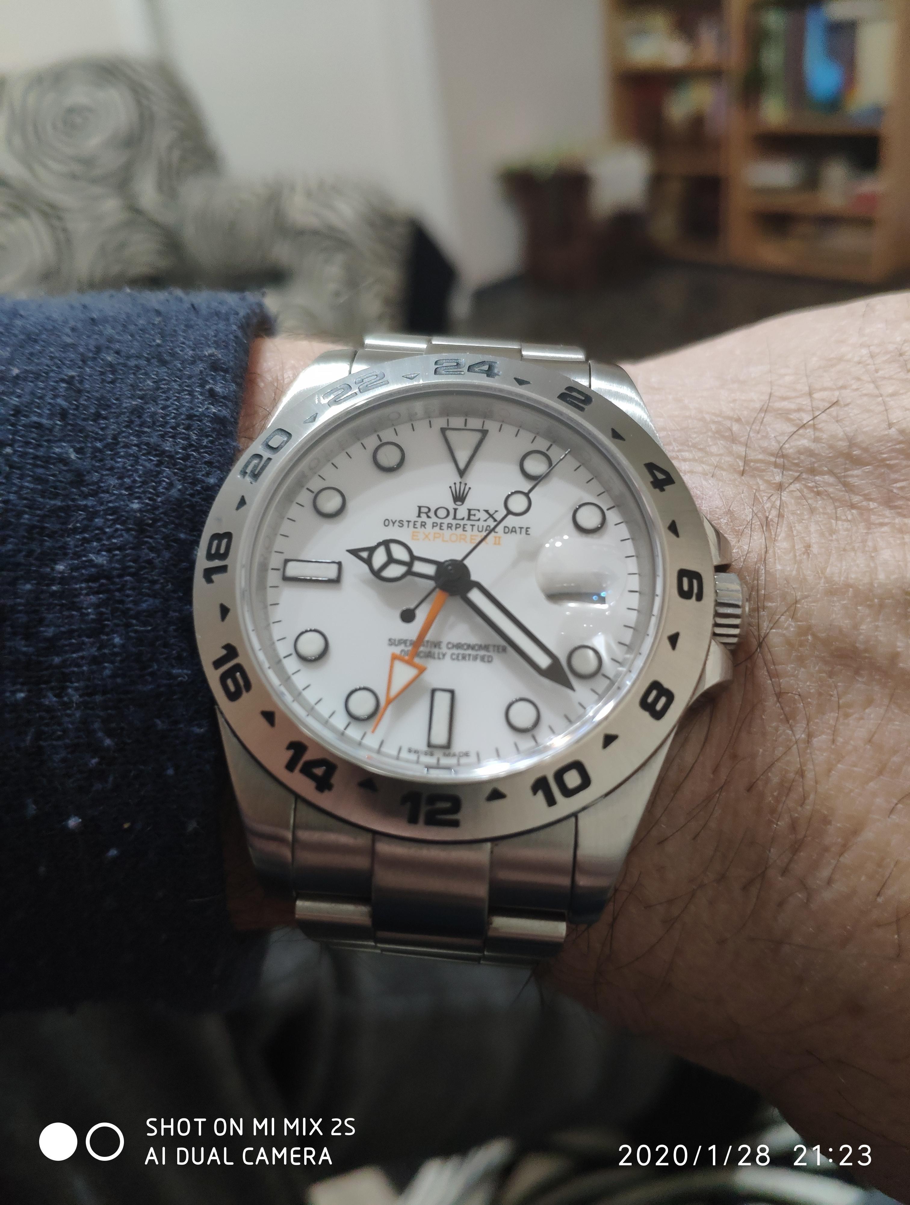 Αγορά Rolex Explorer II - Ρολόγια Replica