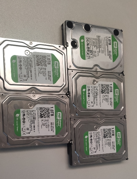 [VENDO] 5 discos duros 1TB Western Digital Green