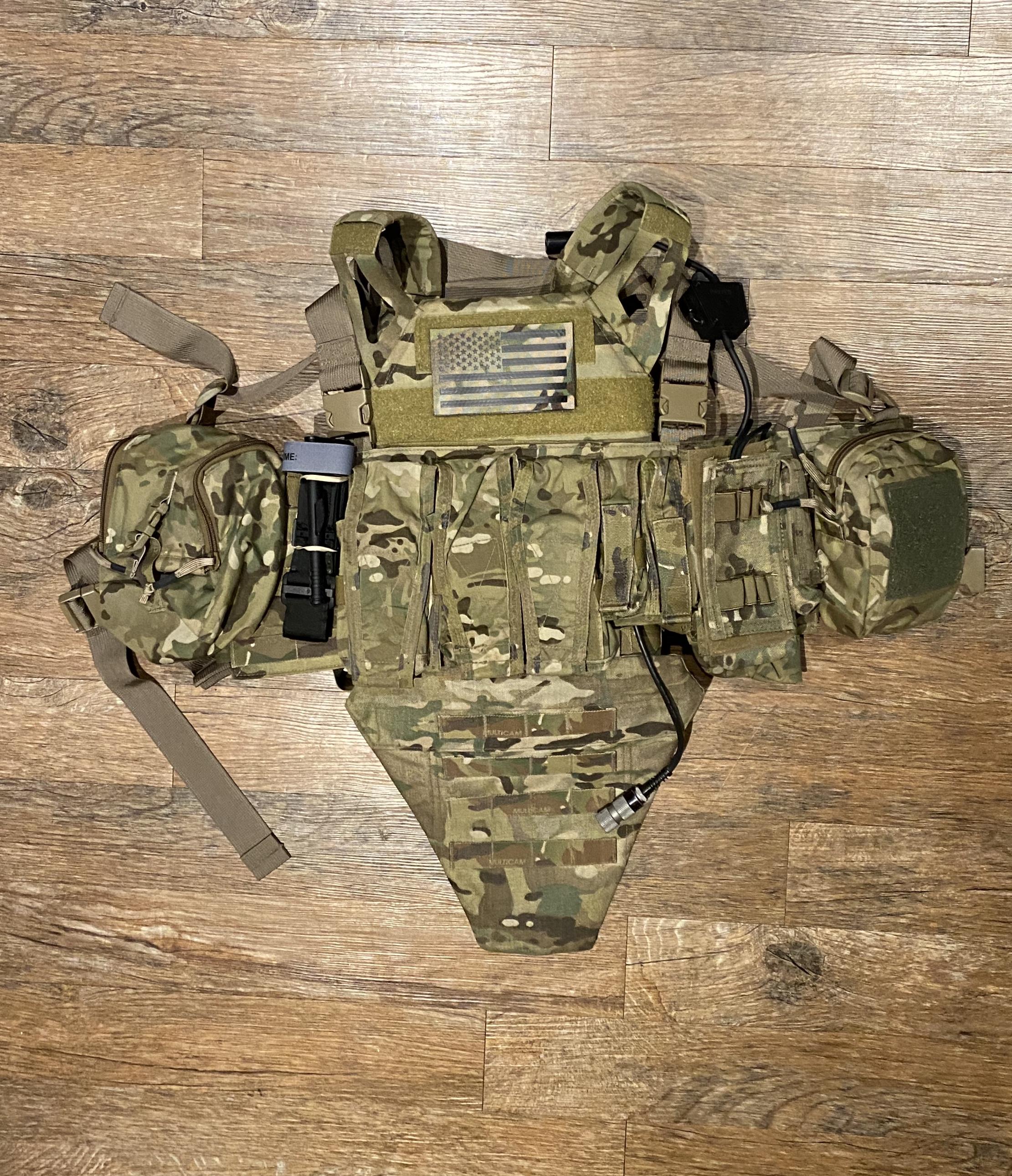Tactical Reaper Crew Tactique /Écusson Brod/é Titan One Europe Noir