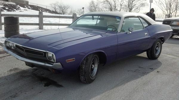 f7813c6898ed242290c5ef602bdd696f in '71 Challenger One Owner in Cars For Sale or Wanted