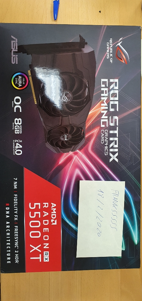 [VENDO] Asus rx 5500 xt gaming oc 8gb