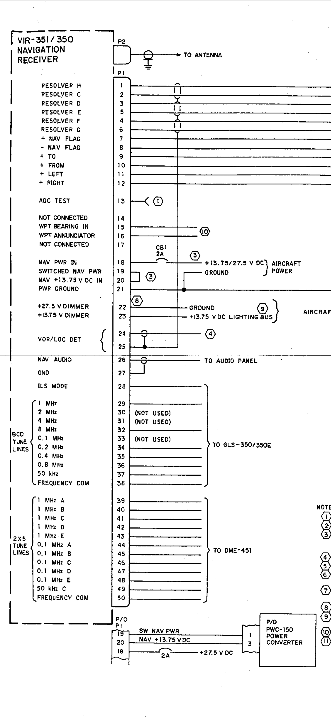 Collins Gls350 Wiring Diagram    Installation Manual - Avionics  Panel Discussion