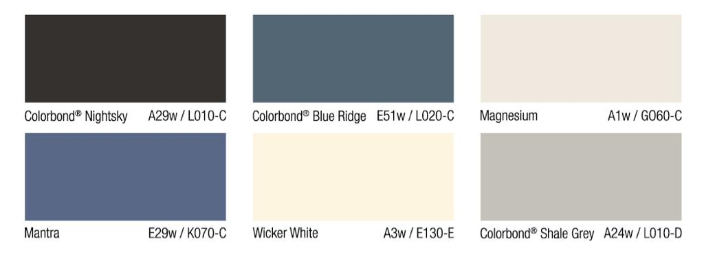 Exterior paint colour. What colour would you put with white