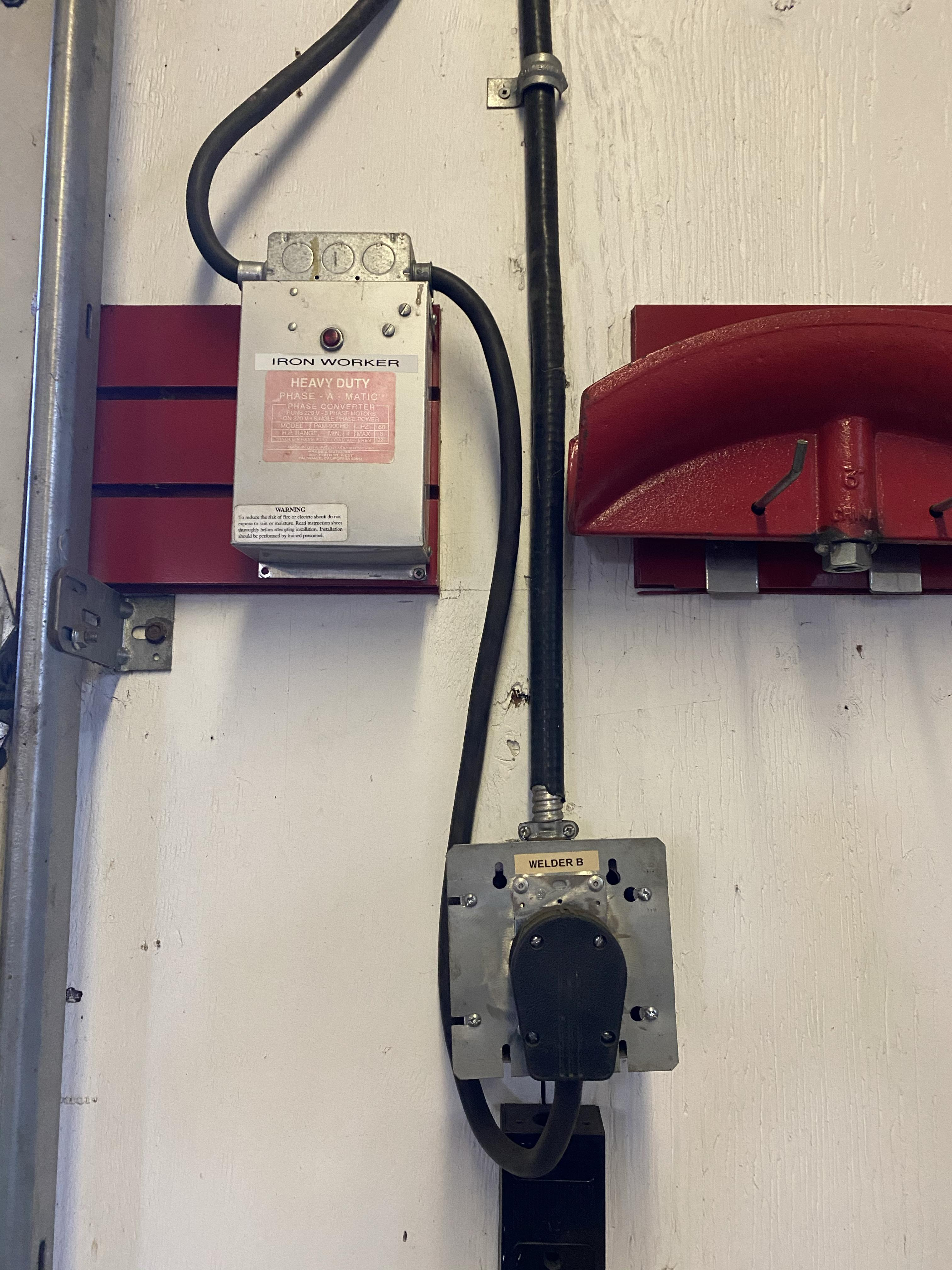 Scotchman FI-51 ironworker and 3phase to 1phase? - The Garage Journal Board | Elec Wiring Diagram For Mubea Ironworker |  | The Garage Journal