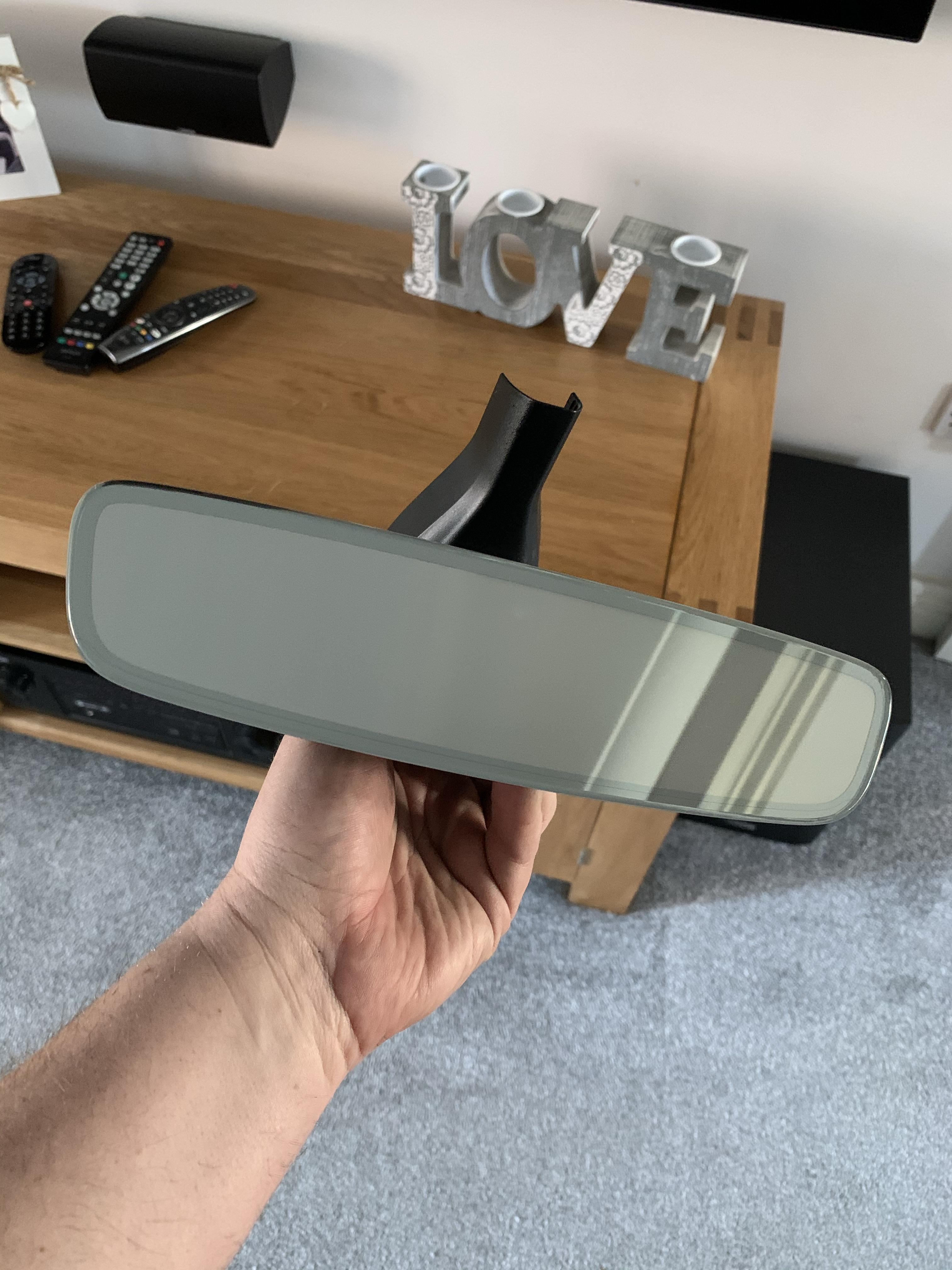 Audi S3 8p Auto Dimming Rear View Mirror Retrofit