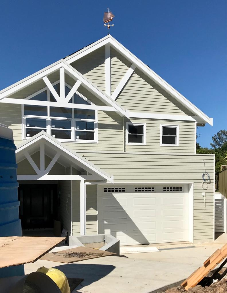Hamptons inspired architect design with attached granny flat