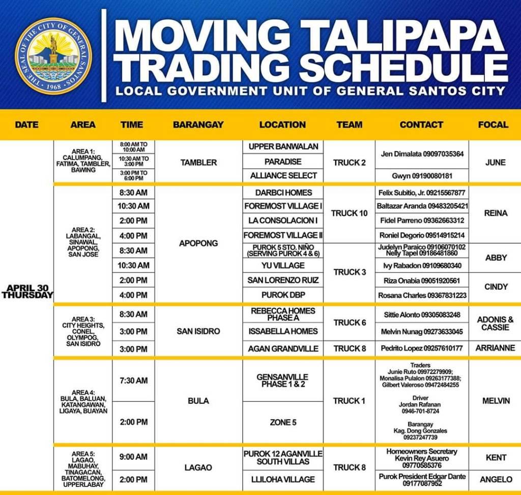 ecaeb28915db273ec131559590455413 - Moving Talipapa Trading Schedule - Philippine Business News
