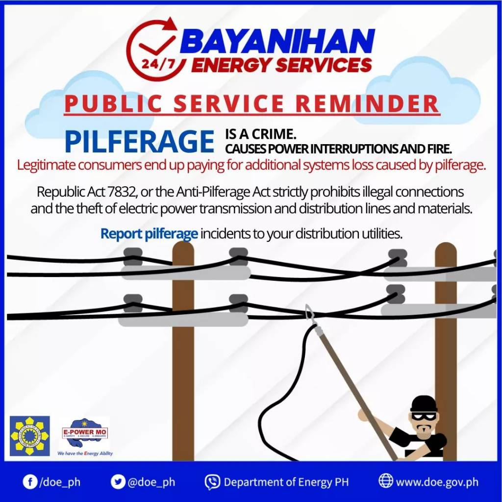 942e3e7036e1608aa59de27ad7c61743 - Pilferage is a crime - Philippine Laws