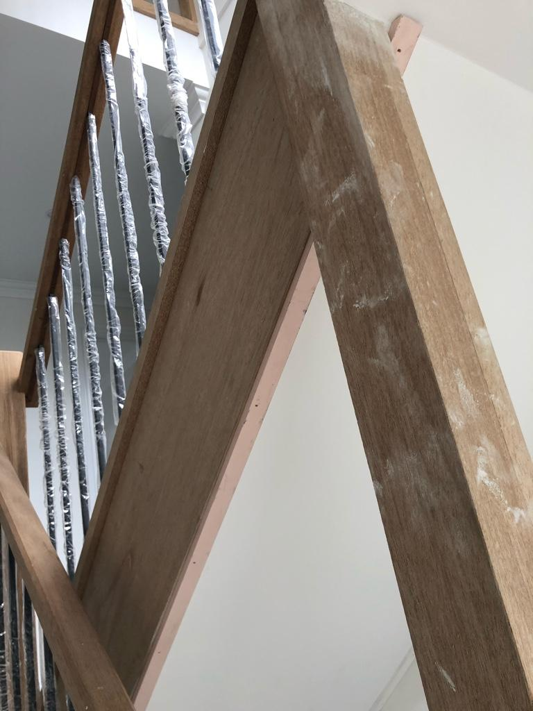 Staircase finish