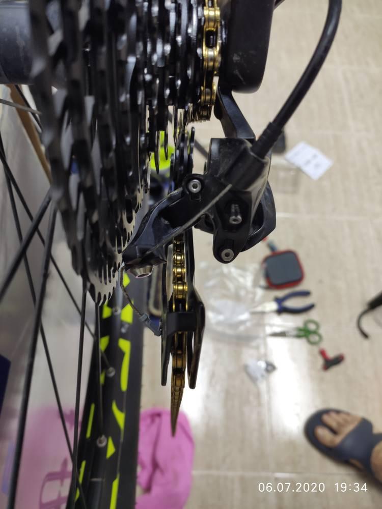 Circuito de bicicleta ojo fallo final Unión gh-130 para Corratec focus Univega Haro...