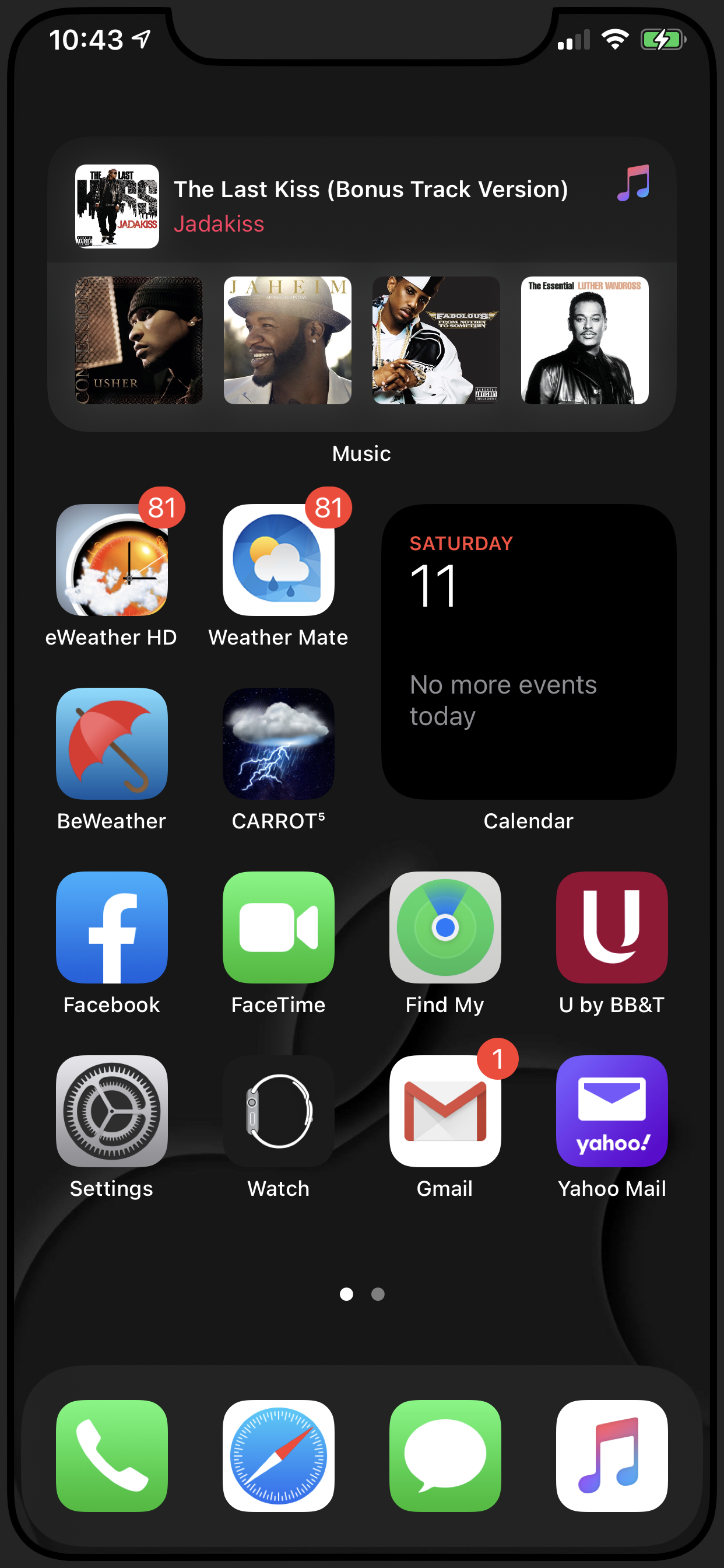 Let's see your iPhone lock/home screens!
