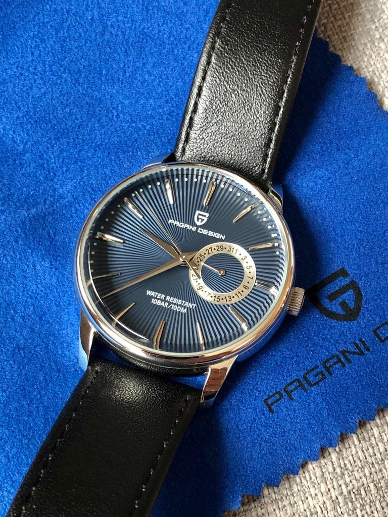 Sold Pagani Design Pd1654 Cocktail Time Blue Dial With Seiko Mecaquartz Movement Watchuseek Watch Forums