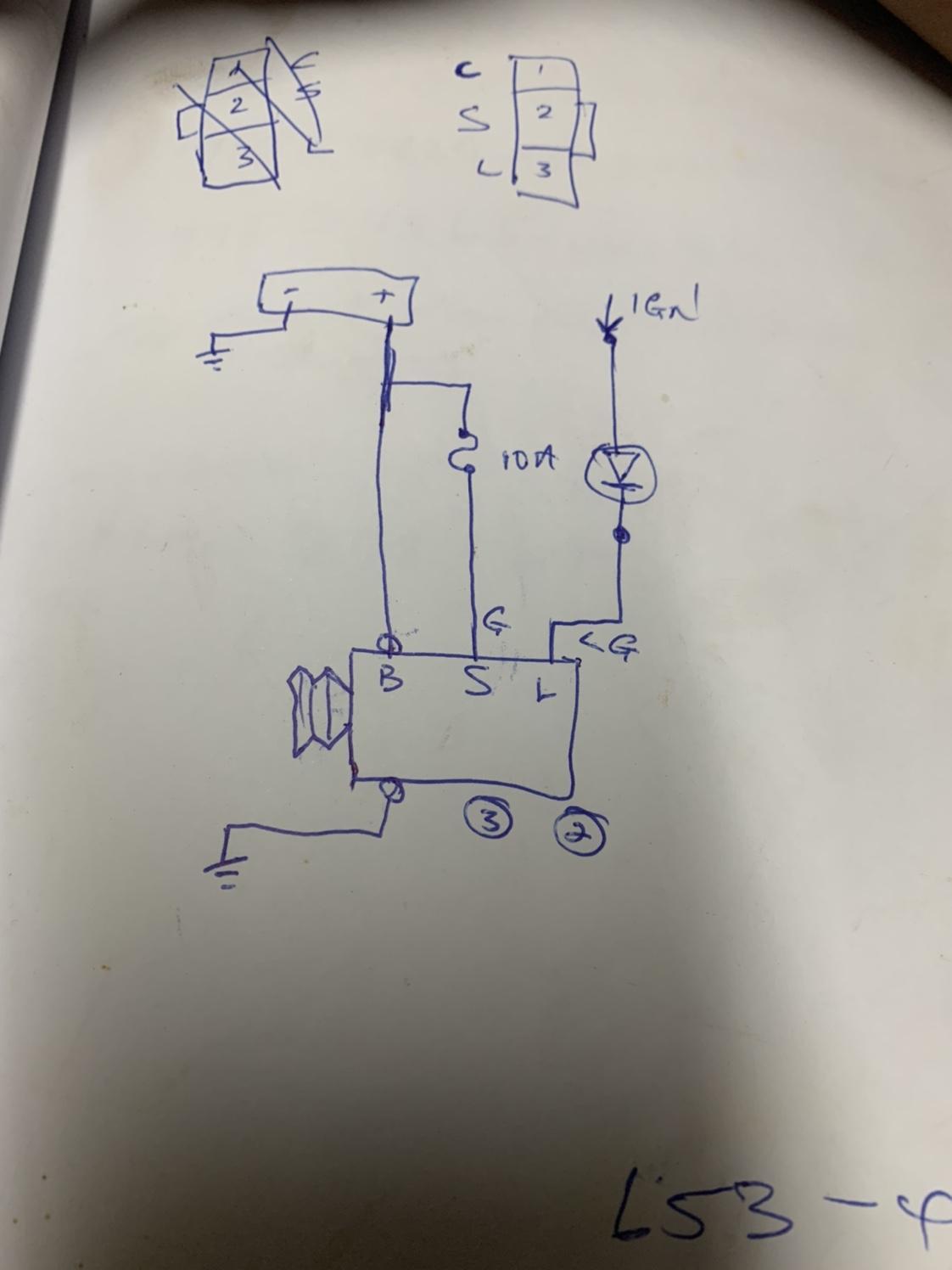 Help With Tiida Alternator Wiring Trinituner Com