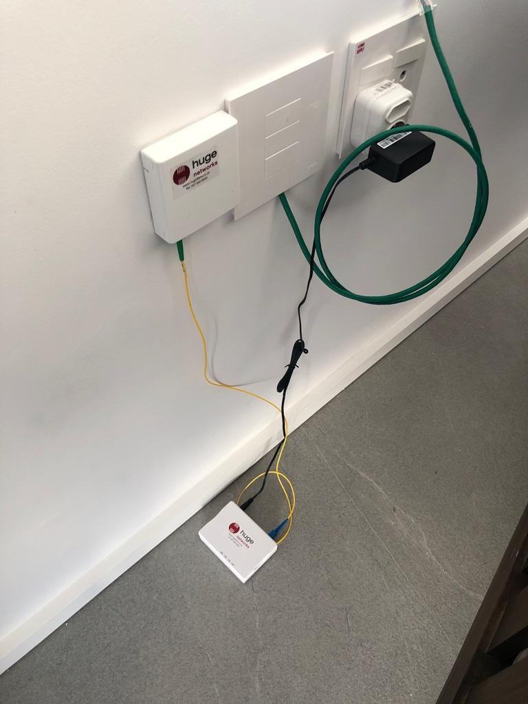 Fibre Installation Madness