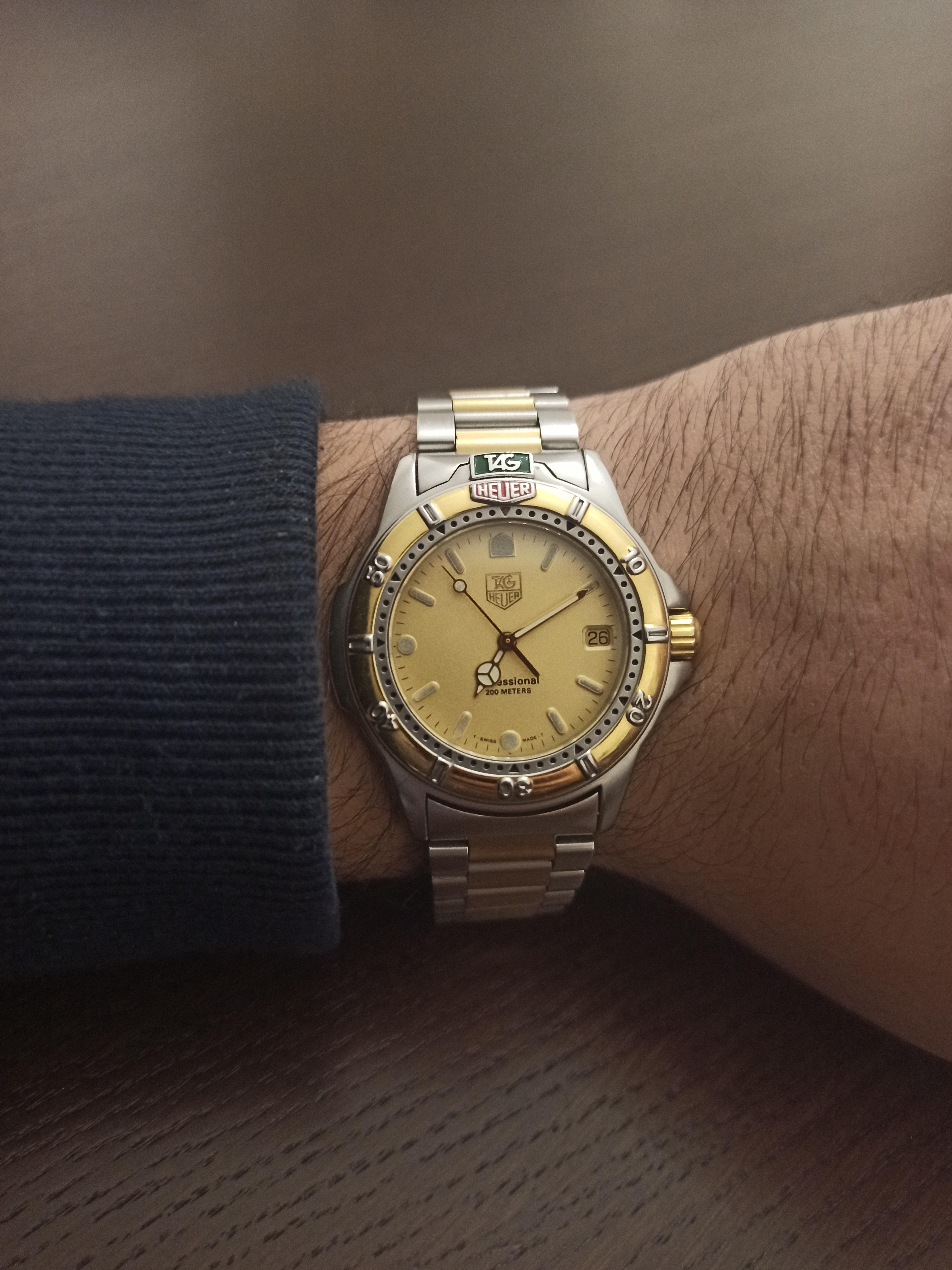Tag Heuer 4000 professional - TAG Heuer