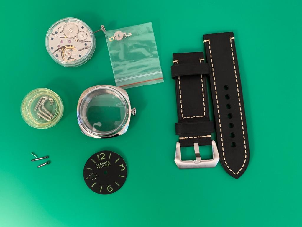 How to build your own mechanical watch - Homage ρολόγια