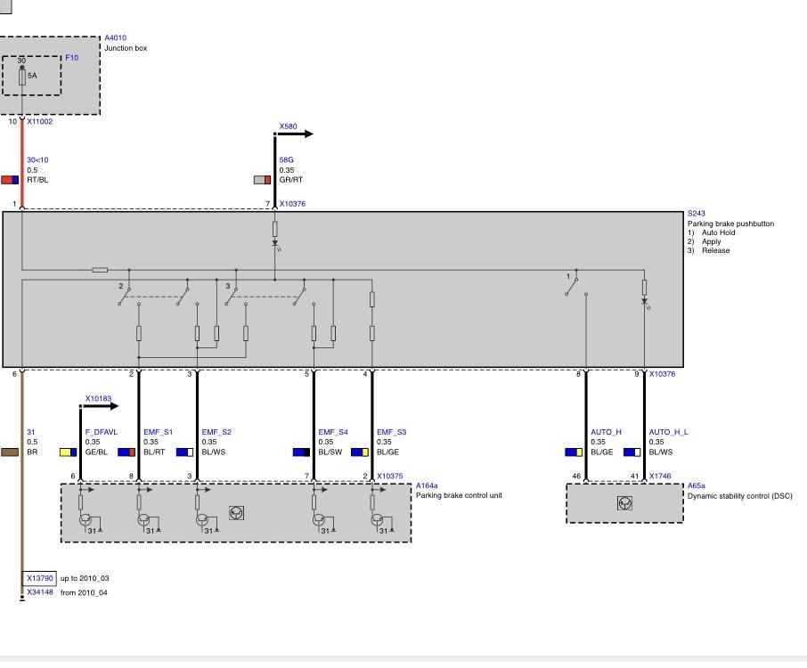 Parking Brake Wiring Bimmerfest Bmw Forum, Bmw X5 E70 Wiring Diagram