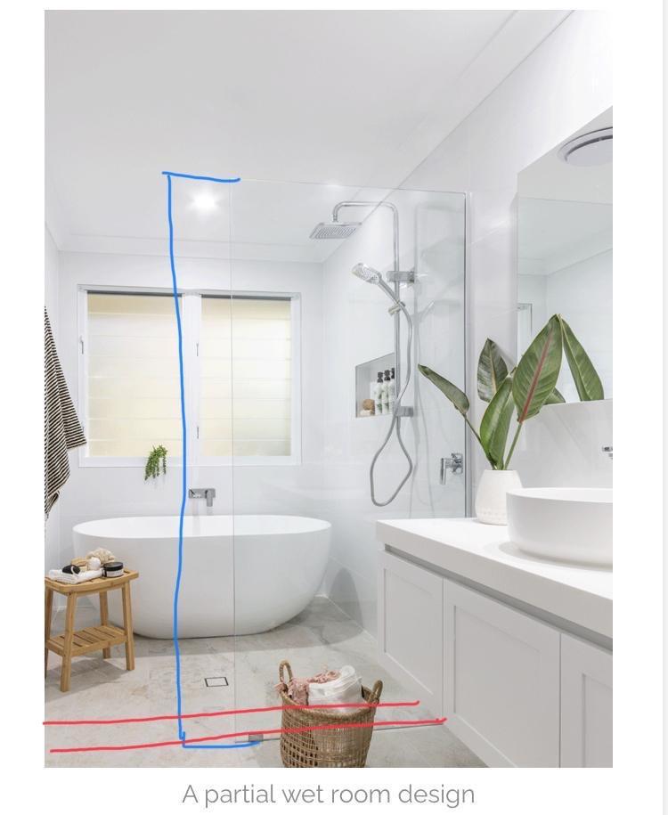 Partial Wet Room