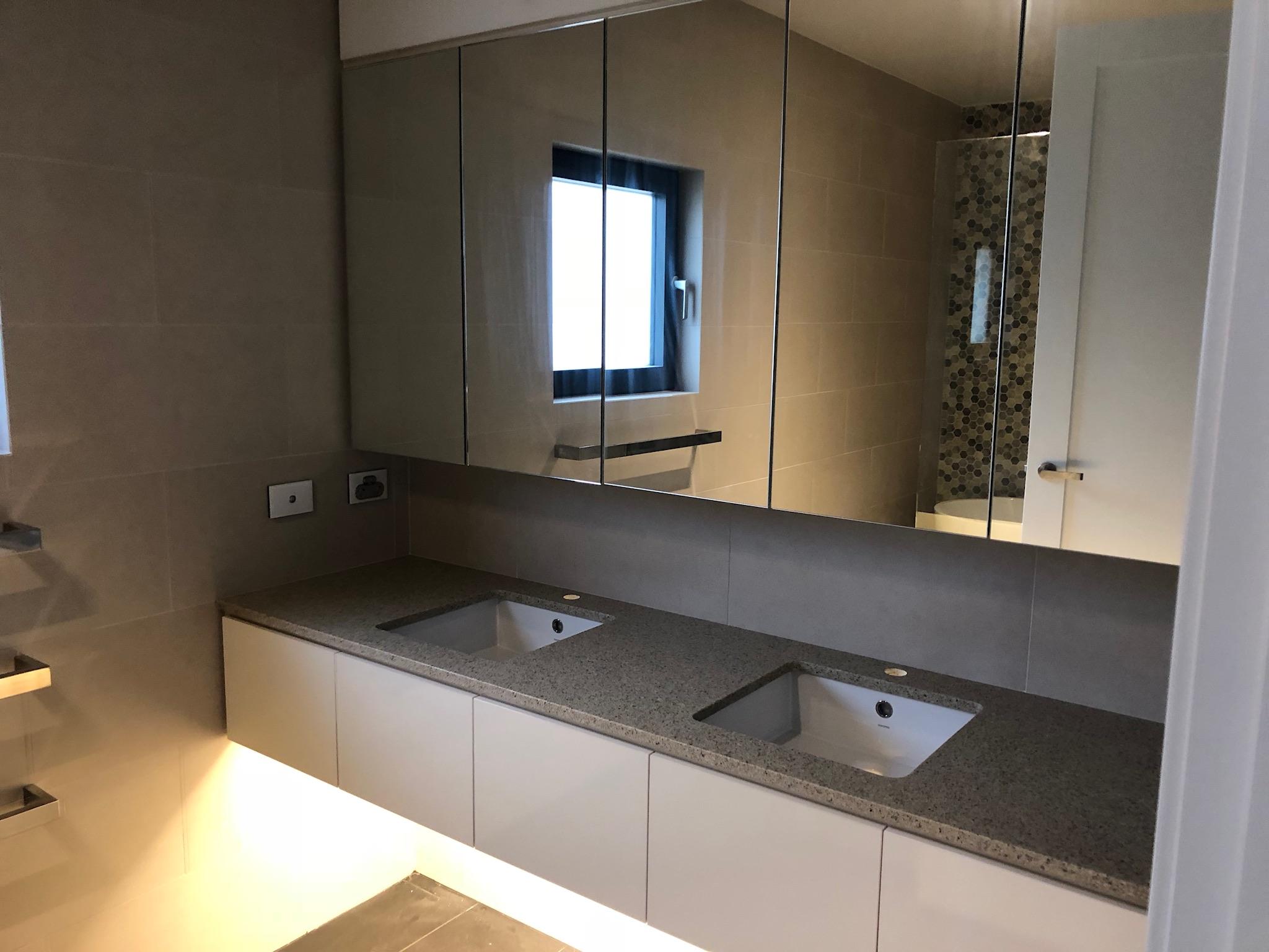 bathroom/ensuite vanities and sinks