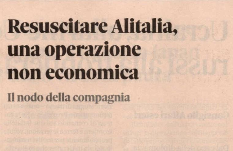 Alitalia, scontro con la EU - Pagina 8 A546ca21b176188d147b07908a801398